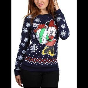 Disney Navy Minnie Mouse Plus Size  Sweatshirt. 3X